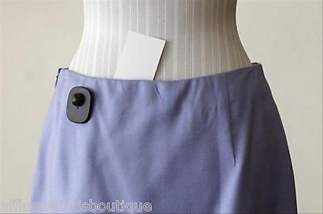 Valentino Boutique Lavender With Lace Detail Skirt Purple