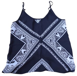 Old Navy Top Black White