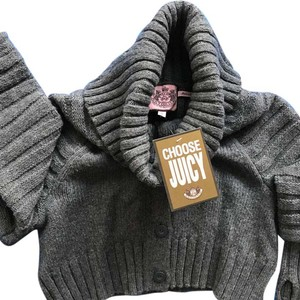 Juicy Couture Cropped Knitwear Sweater