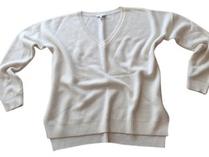 Joie V-neck Cream Sweater