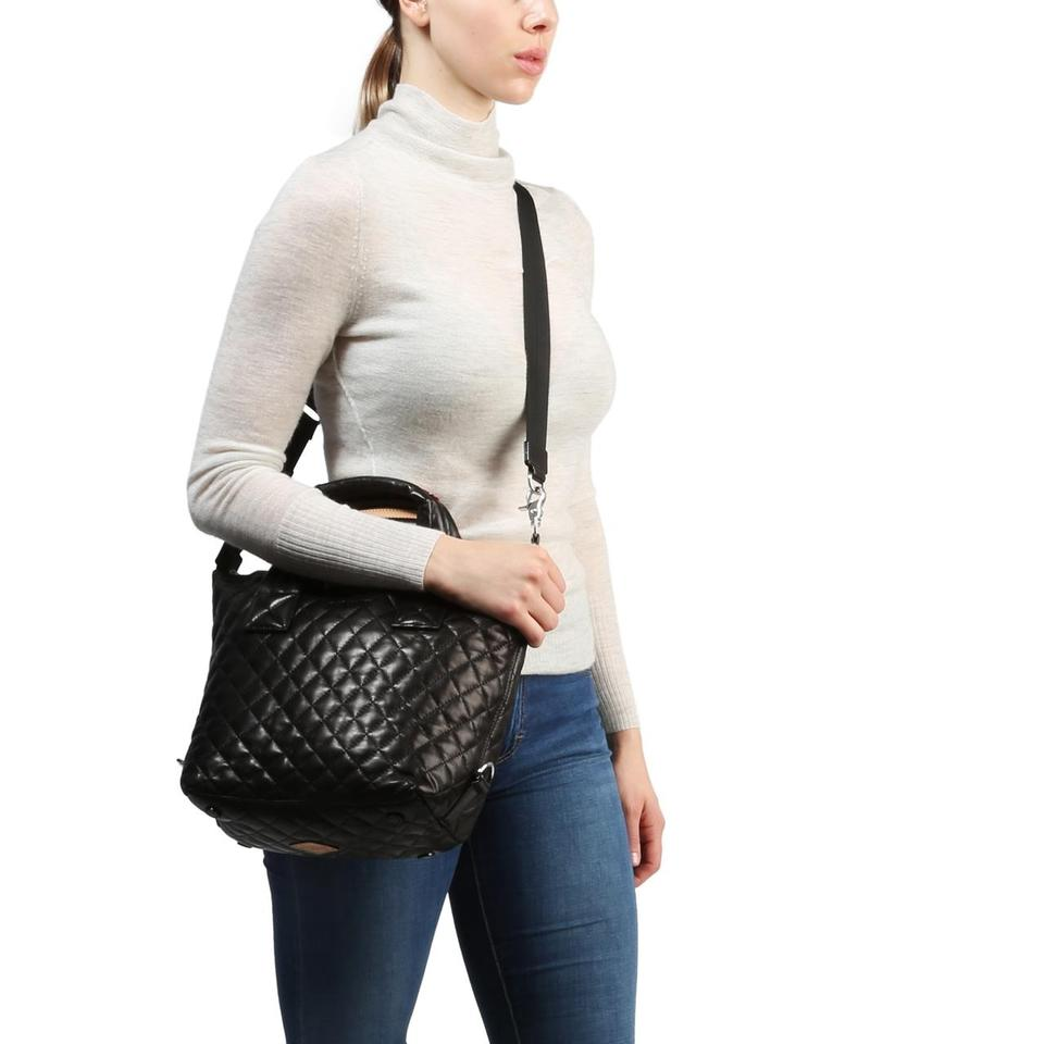 c89034dc0f MZ Wallace Small Sutton - Quilted Black Leather Tote - Tradesy