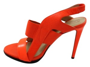 Reed Krakoff Sandal Neon Orange Sandals