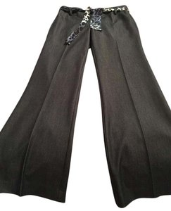 Cache Wide Leg Pants Denium look