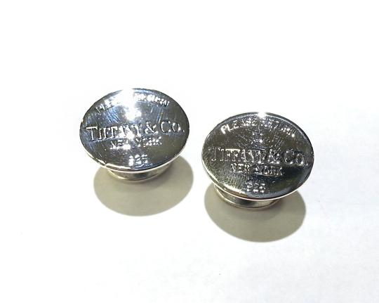 Tiffany & Co. Please Return To Tiffany & Co Cuff Links Sterling Silver Image 1