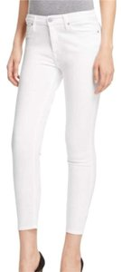 7 For All Mankind Skinny Pants White