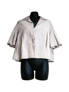 Dior Christian Suede Blush Leather Jacket