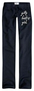 Gilly Hicks NWT GILLY HICKS ABERCROMBIE & FITCH BLUE SKINNY GIRL LOGO SWEATPANTS L