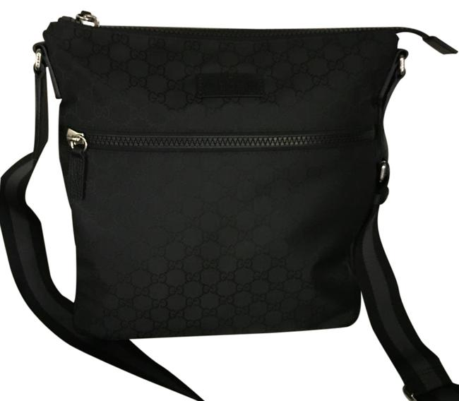 Gucci Black Messenger Bag Gucci Black Messenger Bag Image 1