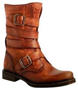Frye Tankerboot Fall Brown Cognac Boots