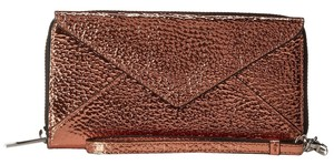 Loeffler Randall Loeffler Randall Zip Wallet Metallic Copper Wallet