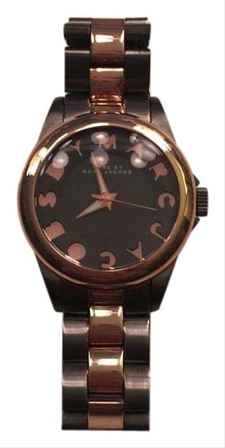Marc by Marc Jacobs Grey with Rose Gold Watch Image 1