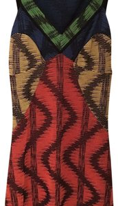 Missoni short dress Multi color, black base on Tradesy