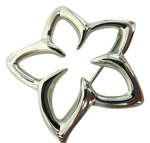 TIFFANY Tiffany,Co,Sterling,Silver,Plumeria,Pinbrooch,From,1996,-,A,Classic