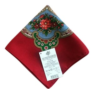 women's scarf with Russian ornament
