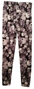 Other Skull Skulls Black & white Leggings