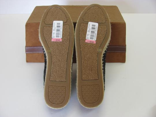 Gianni Bini With Tag Fully Beaded Size 8.50 M Excellent Condition Black, Neutral Flats Image 8