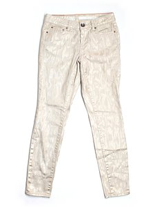DKNY Metallic Mid-rise Print Jeggings
