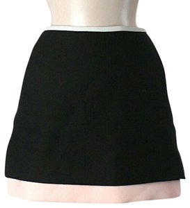 Diane von Furstenberg Color-blocking Mini Skirt