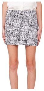 Alice + Olivia Mini Skirt Grey, Black, White