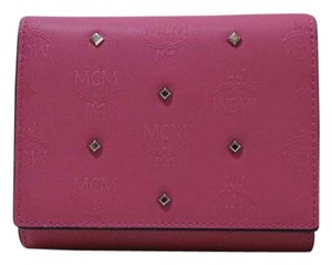 MCM MCM Claudia Studs 3 Fold Wallet
