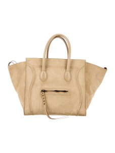 Céline Tote in Tan
