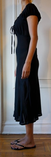 Black Maxi Dress by Other High-low