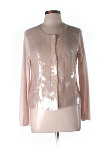 Alice + Olivia Sequin Embellished Wool Cardigan