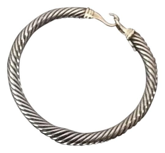 Preload https://item5.tradesy.com/images/david-yurman-sterling-silver-and-gold-clasp-bracelet-201159-0-0.jpg?width=440&height=440