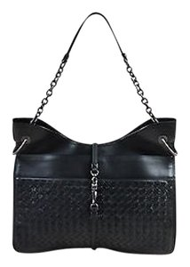 Bottega Veneta Intrecciato Leather Beverly Flat Hobo Shoulder Bag