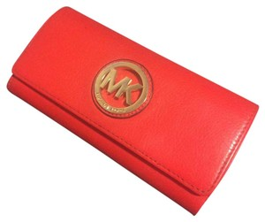 MICHAEL Michael Kors Orange Clutch
