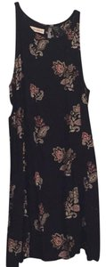 Abercrombie & Fitch short dress Black with flowers on Tradesy