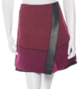 Proenza Schouler Mini Skirt Black, pink, red