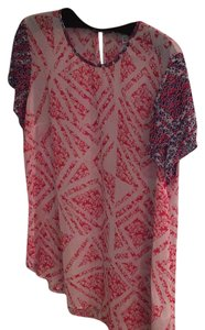 CAbi Top Red white blue