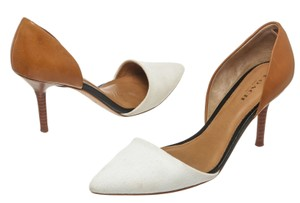 Coach White/Tan Pumps