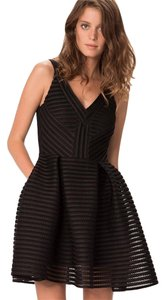 Sandro short dress black on Tradesy