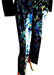 Martha Egan Dragon Jacquard Dragon Jacquard Superior Fabric Vintage Inspired Pants