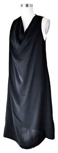 L'AGENCE Cowl Aline Silk Pockets Dress
