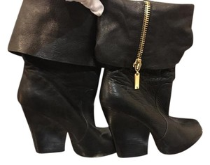 Dolce Vita Leather Very Black Boots