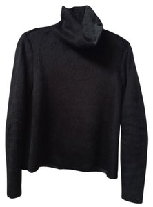Zara Fuzzy Turtleneck Oversized Sweater