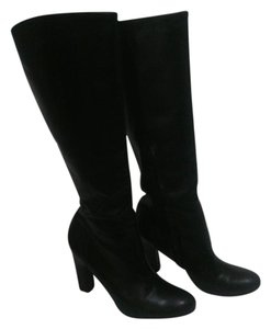 Sam Edelman Rubber Sole Black Boots