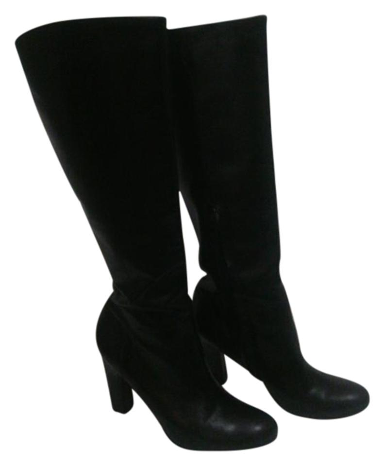 c5d0ba63a Sam Edelman Black Leather Sit Just Under The Knee. Boots Booties ...