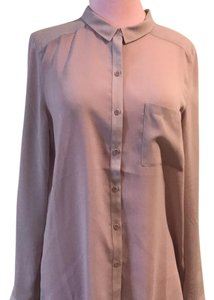 Trouvé Button Down Shirt Nude