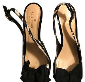 Kate Spade Black/white Pumps