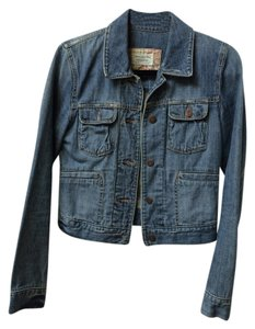 Abercrombie & Fitch Jean Cotton Denim Womens Jean Jacket