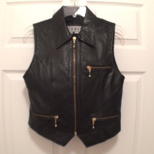Siena Studio Leather Biker Motorcycles Western New Vest