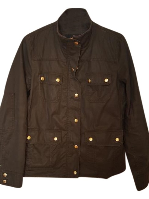 Item - Army Green/ Mossy Brown Downtown Field Jacket Size 6 (S)