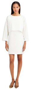 APIECE APART short dress White Linen Stretchy Chic Classic on Tradesy