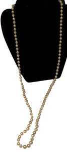 Other Long Faux Pearl Necklace