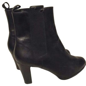 Ralph Lauren Genuine Leather Black Boots