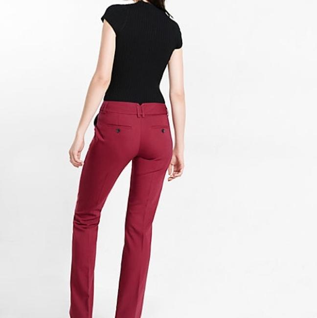 Express Flare Pants Berry